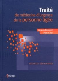 Histoiresdenlire.be Traité de médecine d'urgence de la personne âgée - Urgences gériatriques Image
