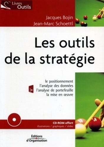Jacques Bojin et Jean-Marc Schoettl - Les outils de la stratégie. 1 Cédérom