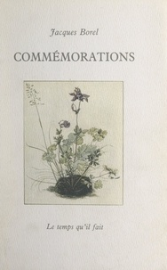 Jacques Borel - Commémorations.