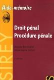Jacques Borricand et Anne-Marie Simon - Droit pénal Procédure pénale - Edition 2006.