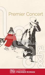 Jacques Borsarello - Premier concert.