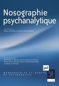 Jacques Bouhsira et Laurent Danon-Boileau - Nosographie psychanalytique.