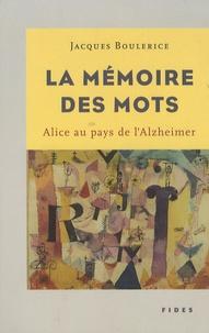 Deedr.fr La mémoire des mots - Alice au pays de l'Alzheimer Image