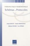 Jacques Boulet et Antoine Demonceaux - Thérapeutique homéopathique - Schémas & protocoles.