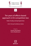 Jacques Bourgeois et Denis Waelbroeck - Ten years of effects-based approach in EU competition law - State of play and perspectives.