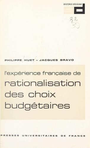 L'expérience française de rationalisation des choix budgétaires : R.C.B.