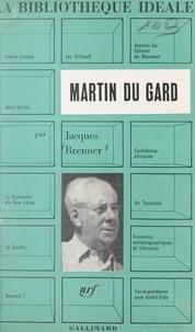 Jacques Brenner et Jean Cocteau - Roger Martin du Gard.