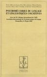 Jacques Bres - Psychomécanique du langage et linguistiques cognitives - Actes du XIe colloque international de l'AIPL, Montpellier, les 8, 9 et 10 juin 2006.