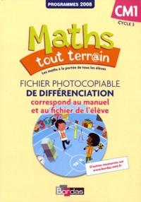 Jacques Brun - Maths tout terrain CM1 - Fichier photocopiable de différenciation.