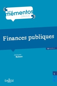 Jacques Buisson - Finances publiques.