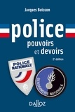 Jacques Buisson - Police - Pouvoirs et devoirs.