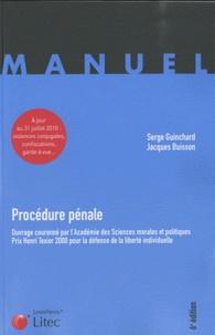 Jacques Buisson et Serge Guinchard - Procédure pénale.