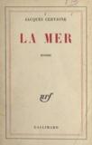 Jacques Cervione - La mer.