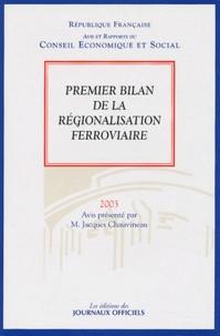 Jacques Chauvineau - Premier bilan de la régionalisation ferroviaire.