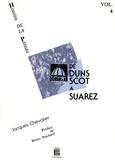 Jacques Chevalier - De Duns Scot à Suarez - Histoire de la pensée (Volume 4).