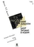 Jacques Chevalier - De saint Augustin à saint Thomas d'Aquin - Histoire de la pensée (Volume 3).
