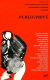 Jacques Chevallier et Domenico Menna - Public, privé.