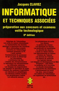 Jacques Claviez - Informatique et techniques associées - Préparation aux examens et concours, Veille technologique.