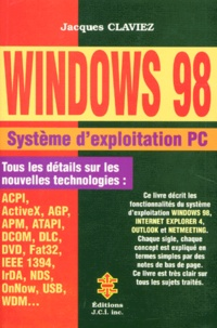 WINDOWS 98. Système dexploitation.pdf