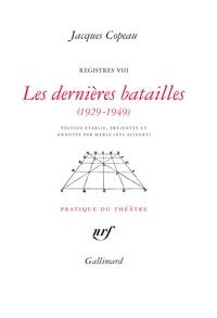 Galabria.be Registres VIII,Les dernières batailles (1929-1949) Image