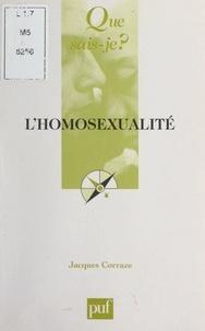Jacques Corraze et Paul Angoulvent - L'homosexualité.