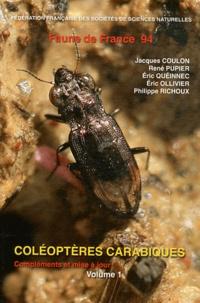 Coléoptères carabiques - Compléments et mise à jour Volume 1.pdf