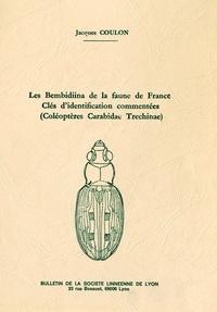 Jacques Coulon - Les Bembidiina de la faune de France - Clés d'identification commentées (coléoptères carabidae trechinae).