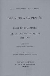 Des mots à la pensée - Essai de grammaire de la langue française, 8 volumes.pdf