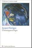 Jacques Dartigue - Chroniques d'Apu.
