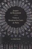Jacques de Ricaumont - Visites à Messieurs les curés de Paris.