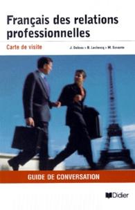 Jacques Delcos - Français des relations professionelles - Guide de conversation.