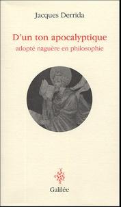 Dun ton apocalyptique - Adopté naguère en philosophie.pdf