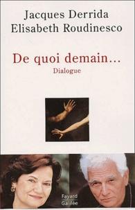 Jacques Derrida et Elisabeth Roudinesco - .