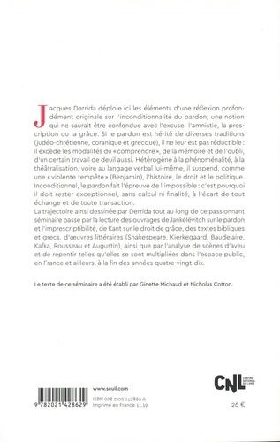 Le parjure et le pardon. Volume 1, Séminaire (1997-1998)