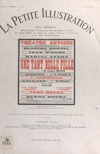 Jacques Deval et Robert de Beauplan - Une tant belle fille - Pièce en trois actes jouée pour la première fois, le 28 novembre 1928, au théâtre Antoine.