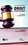 Jacques Djoli Eseng'Ekeli - Droit constitutionnel - L'expérience congolaise (RDC).