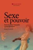Jacques Dubois - Sexe et pouvoir dans la prose française contemporaine.