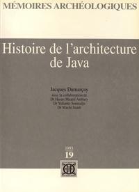 Jacques Dumarçay - Histoire de l'architecture de Java.
