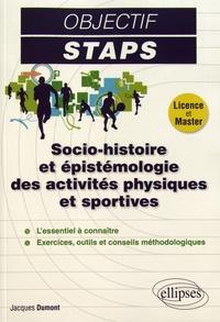 Jacques Dumont - Socio-histoire et épistémologie des activités physiques et sportives.