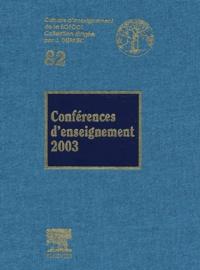 Rhonealpesinfo.fr Conférences d'enseignement 2003 Image