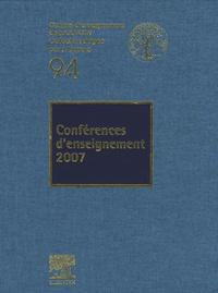 Jacques Duparc - Conférences d'enseignement 2007.