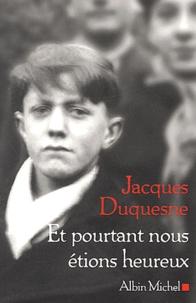 Jacques Duquesne - .