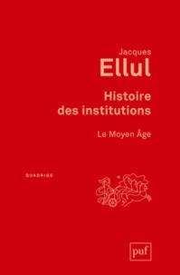 Deedr.fr Histoire des institutions - Le Moyen Age Image