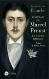Jacques-Emile Blanche - Portrait de Marcel Proust en jeune homme.