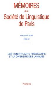 Jacques François - Les constituants prédicatifs et la diversité des langues.