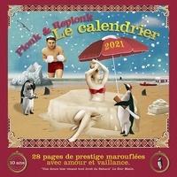 Jacques Froidevaux - Une douce bise venant tout droit du Sahara - Calendrier 28 pages de prestige marouflées avec amour et vaillance 2021.