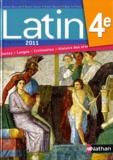 Jacques Gaillard et Gilbert Guinez - Latin 4e - Manuel de l'élève, programme 2011.