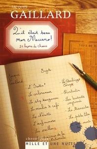 Jacques Gaillard - Qu'il était beau mon Meccano - 21 leçons de choses.