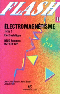 ELECTROMAGNETISME. Tome 1, Electrostatique.pdf
