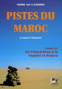 Jacques Gandini - Pistes du Maroc à travers l'histoire - Tome 3, Le Sahara, De l'Oued à la Seguiet el Hamra.